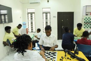 NCF came to teach chess